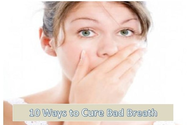 how to cure bad breath