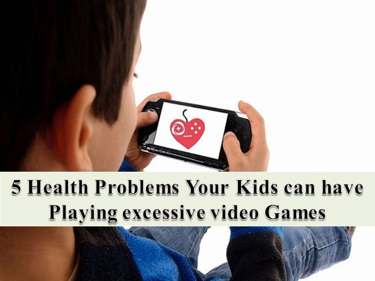 5 Side Effects Your Kid can have playing video games
