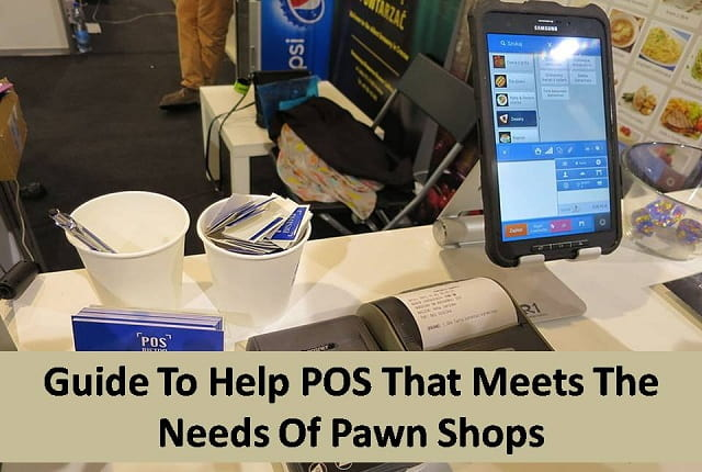 POS for pawn shops