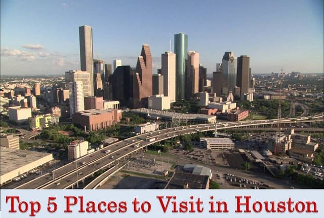 top places to visit in houston