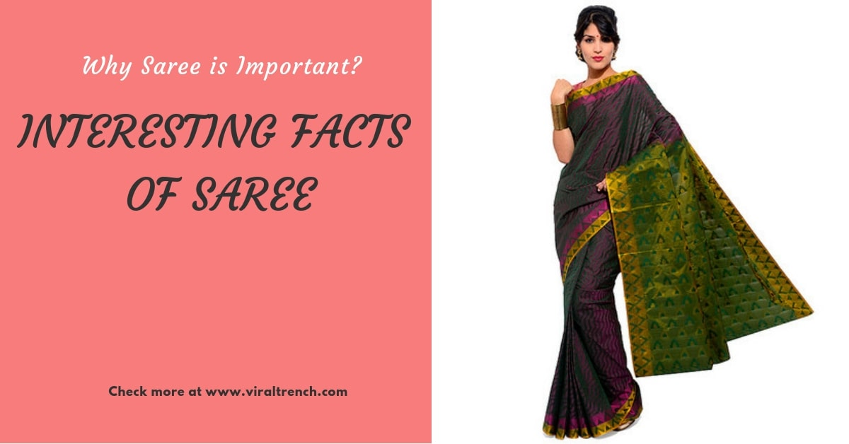 why saree in important