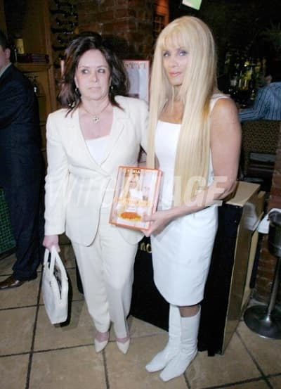 victoria Digiciano with daughter victoria gotti