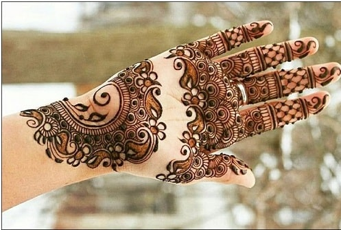 Mehndi designs for Indian bride