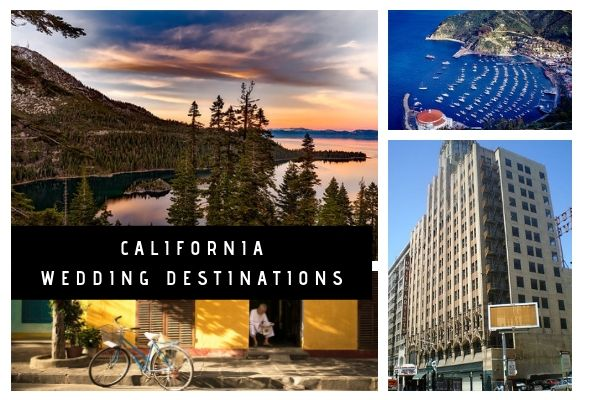 California Wedding Destinations