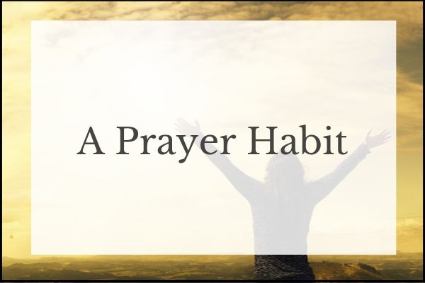 prayer habit