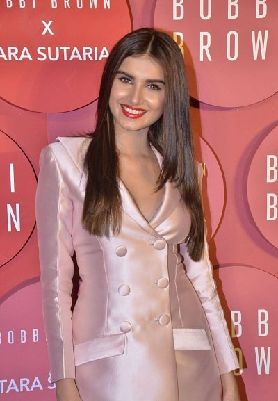 A Beautiful Picture of Tara Sutaria at an event for Bobbi Brown