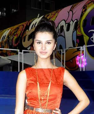 Tara Sutaria at a fashion Show