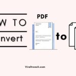 How To Convert PDF to Word