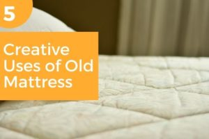 uses of old mattress