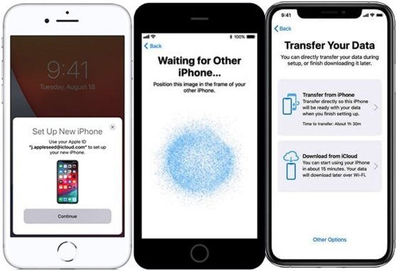 How to Transfer Data from One Phone