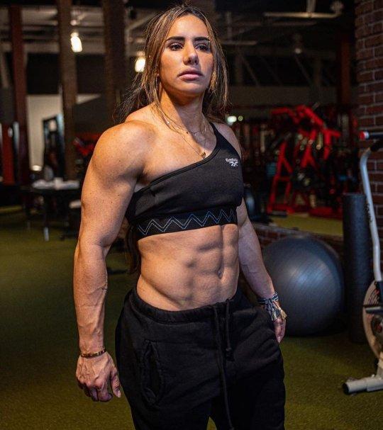 Stefanie Cohen Powerlifter