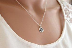 Sunflower Necklace
