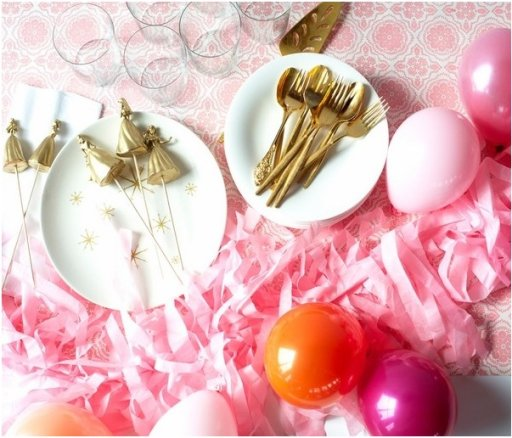 Decoration ideas for a New Years Eve